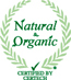 EAURGANIC NATURAL-ORGANIC CERTIFICATION